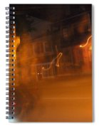 Streets On Fire Spiral Notebook