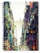 Streetscape 1 Spiral Notebook