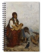 Streitt, Franciszek 1839 Brody - 1890  Rest On The Field. 1875. Spiral Notebook