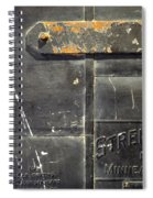 Stremel Bros. Firedoor Spiral Notebook