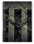 Strength Of Atlas Spiral Notebook