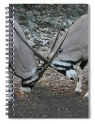 Strength Of Honor Spiral Notebook