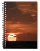 Stretch And Rise Spiral Notebook