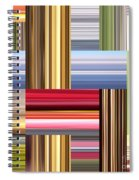 Stretch Of Colors Spiral Notebook