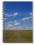 Stretching To The Horizon Spiral Notebook