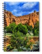 Striated Mountains Spiral Notebook
