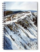 Striding Edge Leading To Helvellin Sumit  Spiral Notebook