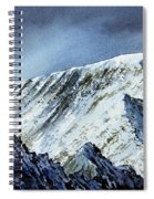 Striding Edge On Helvellin Spiral Notebook