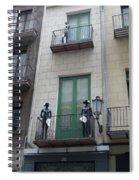 Strike A Pose Spiral Notebook