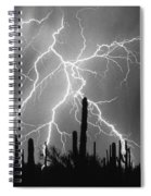Striking Photography In Black And White Spiral Notebook