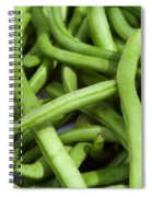 String Beans Spiral Notebook