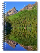 String Lake Morning Mirror Spiral Notebook