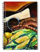 Strings Attached Spiral Notebook