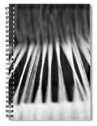 Strings In A Loom Spiral Notebook