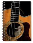 Strings Of My Heart... Spiral Notebook