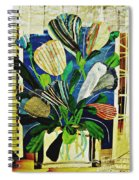 Striped Tulips At The Old Apartment Spiral Notebook