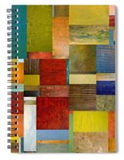 Strips And Pieces L Spiral Notebook