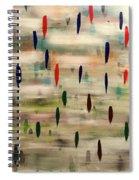 Stroke Of Color Spiral Notebook