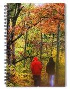 Strolling Along Spiral Notebook