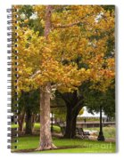 Strolling In Waterfront Park Spiral Notebook