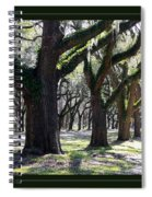 Strong And Proud In The South With Border Spiral Notebook