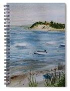 Strong Island Spiral Notebook