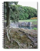Strong Roots In Japan Spiral Notebook