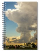 Strong Storms In South Central Nebraska 001 Spiral Notebook
