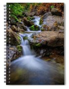 Strongs Canyon Cascades Spiral Notebook