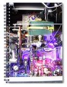 Strontium Atomic Clock Spiral Notebook