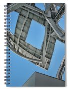 Structure - Center For Brain Health - Las Vegas - Color Spiral Notebook