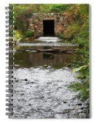 Structure Of A Stream Spiral Notebook