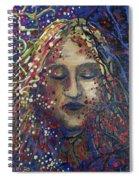 Struggle Of Blue Spiral Notebook