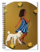 Strut Into This Light Spiral Notebook
