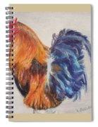 Strutting Rooster Spiral Notebook