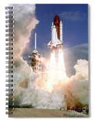 Sts-27, Space Shuttle Atlantis Launch Spiral Notebook