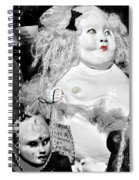 Stuck In The Window With You Spiral Notebook
