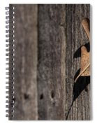 Stuck Spiral Notebook