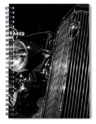 Studebaker Chrome Spiral Notebook