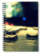 Studio Moments - Faders Spiral Notebook