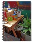 Studio Still 3 Spiral Notebook