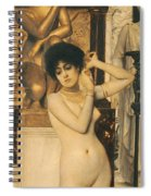 Study For Allegory Of Sculpture Spiral Notebook