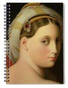 Study For An Odalisque Spiral Notebook
