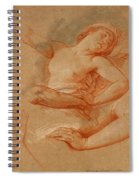Study For Boreas Abducting Oreithyia Spiral Notebook