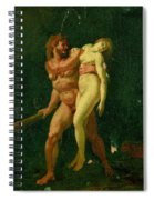 Study For Hercules And Alcestis Spiral Notebook