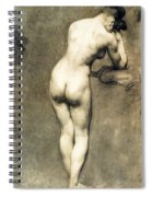Study For Mademoiselle Rose Spiral Notebook
