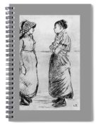Study For The Cat Camille Pissarro Spiral Notebook