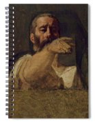 Study For The Centurion Of The Martyrdom Of Saint Symphorien 1834 Spiral Notebook