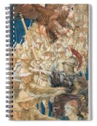 Study For The Coming Of The Americans , John Singer Sargent Spiral Notebook