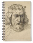 Study For The Head Of A Counsellor Spiral Notebook